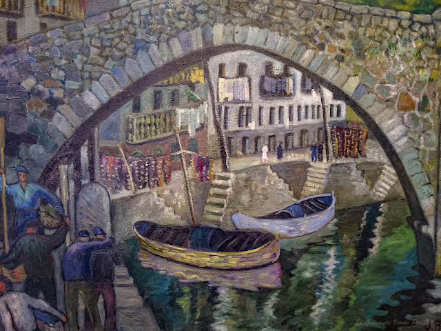 Puente de Ondarroa, Jose Benito Bikandi - Museo Bilbao por EGVP