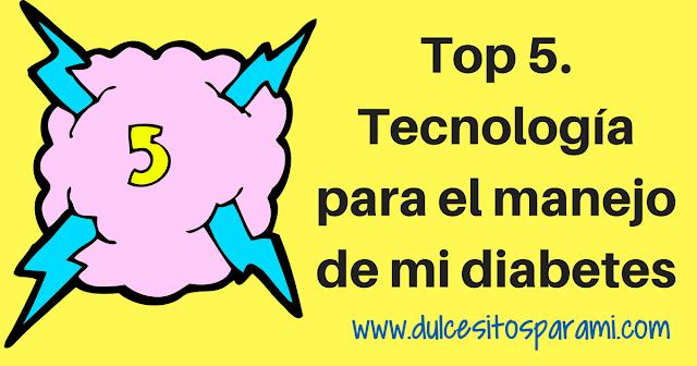 TOP 5 tecnologías y diabetes