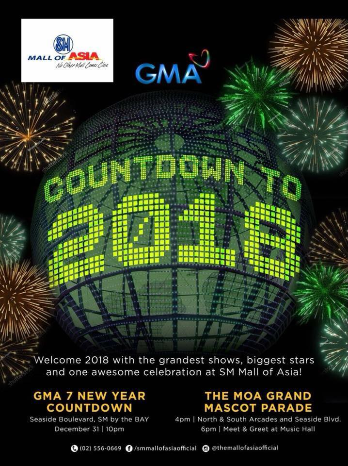 GMA New Year Countdown to 2018