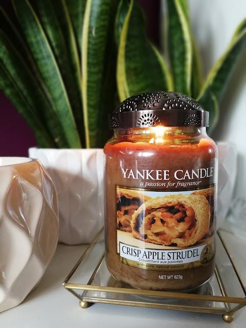 Crisp Apple Strudel Yankee Candle, czyli: to nie zdarza się często