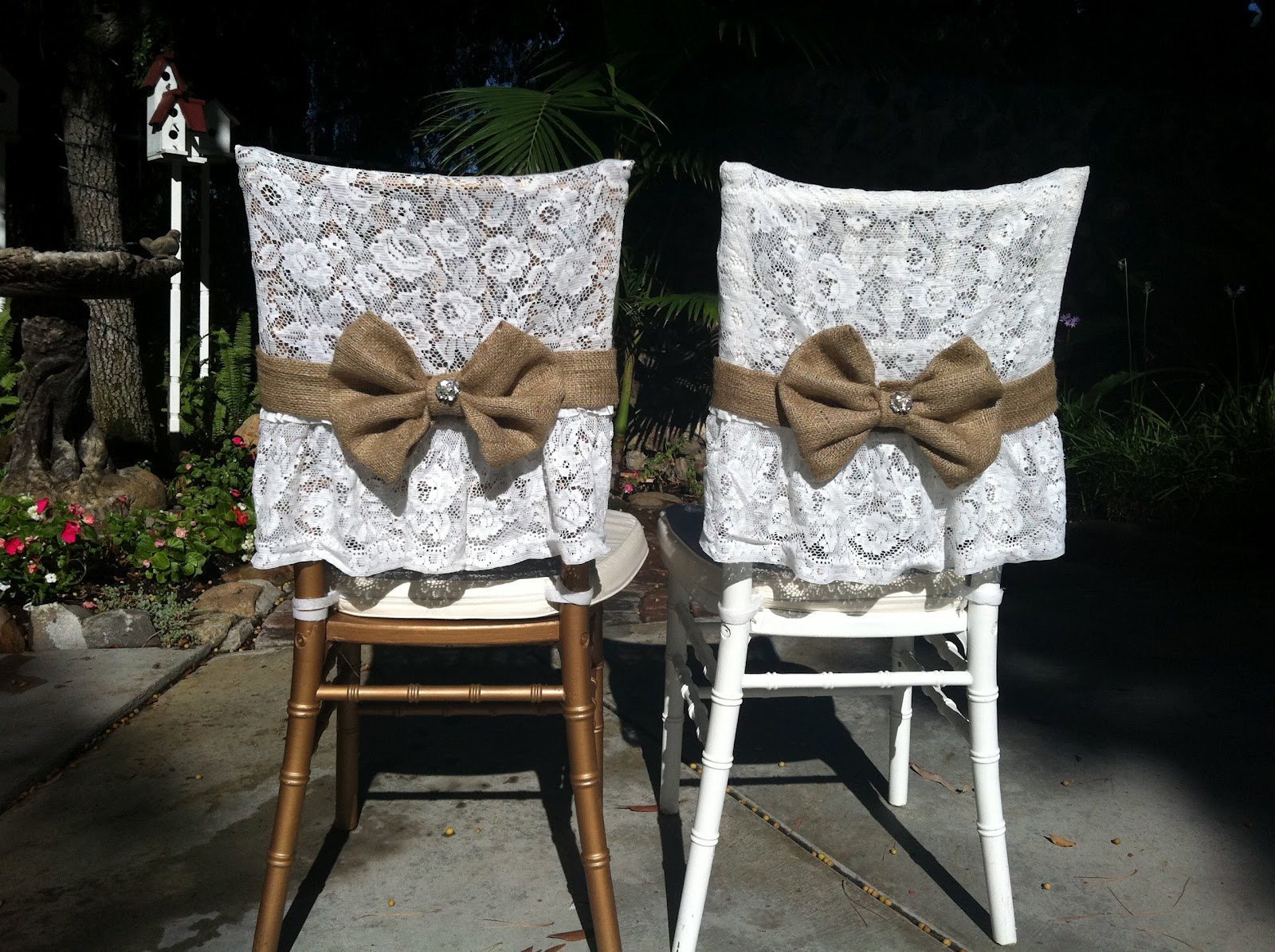 Burlap Chair Covers For Folding Chairs Massage Seattle Shabby Chic On Pinterest Lace Weddings And