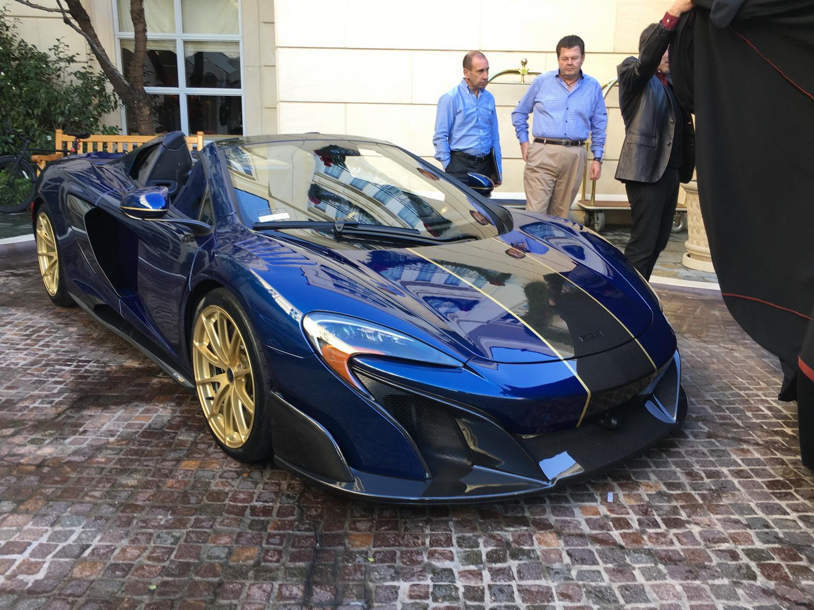 World S Most Expensive Mclaren 675lt Has Wheel Weights