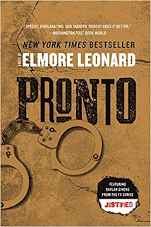Pronto by Elmore Leonard (Book cover)