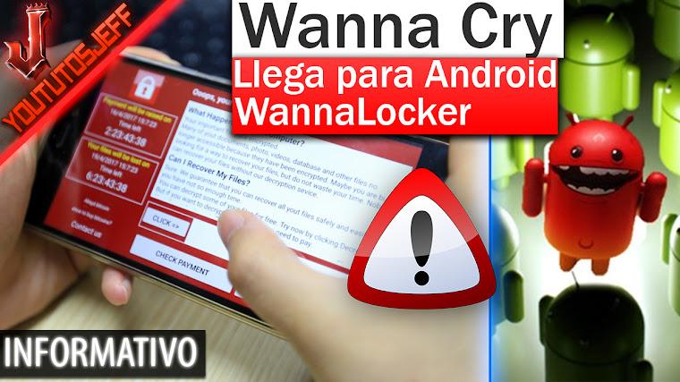 El virus 'WannaCry' ya tiene versión en Android