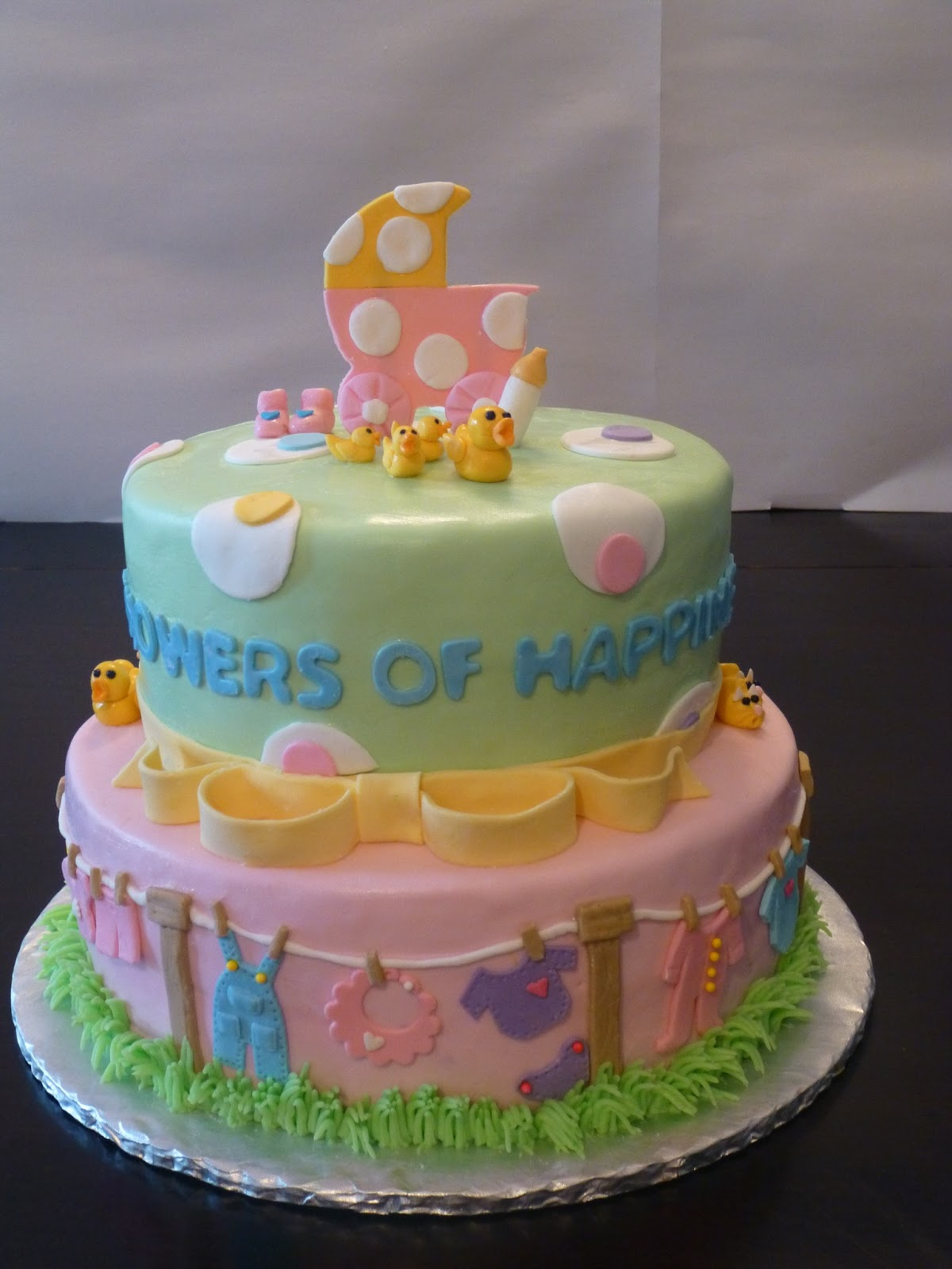 Classic Cakes Baby Shower Cakes