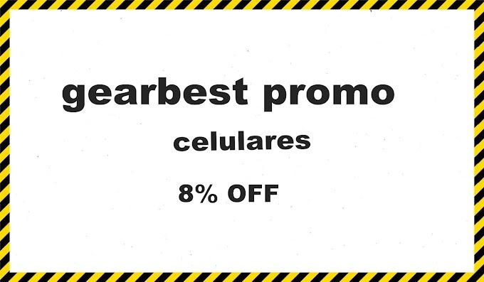 celulares 8% OFF gearbest promo