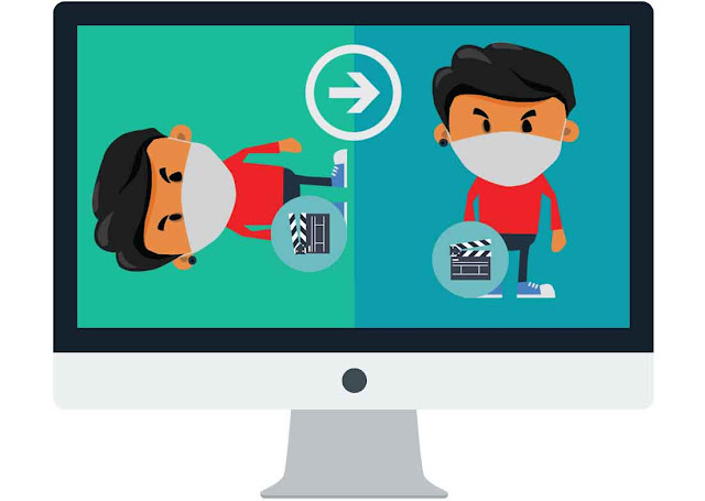 Cara memutar atau merotasi posisi video yang miring