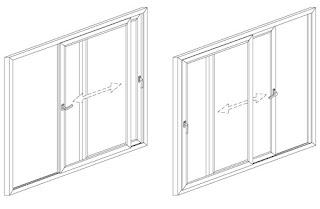Раздвижные окна Волгоград (изготовление и монтаж)