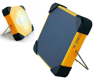 Best Camping Gear and Gadgets - Portable Solar Camping Lamp