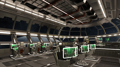 Starship Command Center