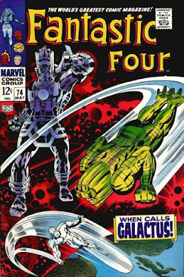 Fantastic Four #74, Galactus is back