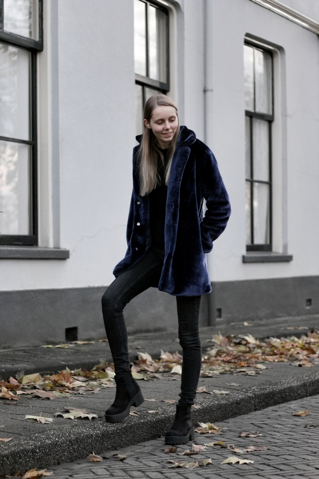 Make people stare nederlandse fashion blogger zaful herfst winter outfit faux fur imitatiebont