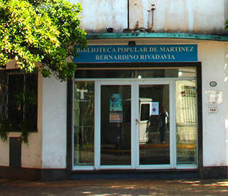 "Biblioteca Popular ""Bernardino Rivadavia"" de Martínez"