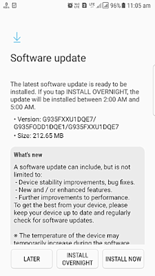 S7 Edge Security Update