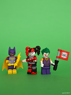 the lego batman movie - the joker notorious lowrider - babs, harley and j