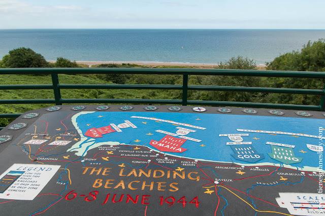 VIaje Normandía recorrido lugares Desembarco de Normandía qué visitar
