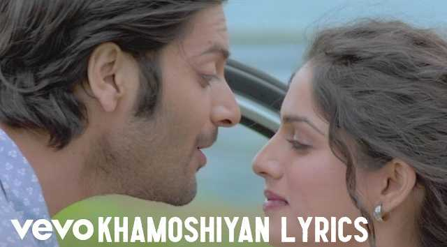 Khamoshiyan Lyrics - Arijit Singh | LyricsBowl