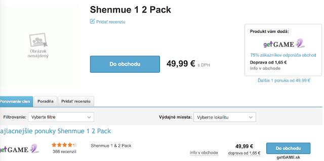 Se filtran Shenmue I y II para PS4 y ONE