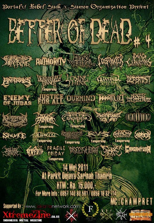 PICT BETTER OF DEAD # 4 - INDONESIAN METAL FEST