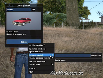 gta sa mod lua visual veh car spawner gui mouse