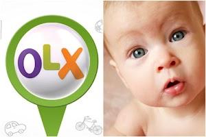 """Parece que vender Bebê na OLX virou """"moda"""""""