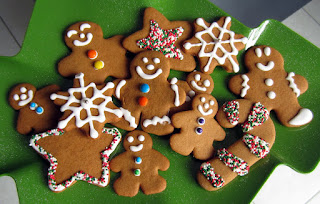 Gingerbread Cookies for vegetarians