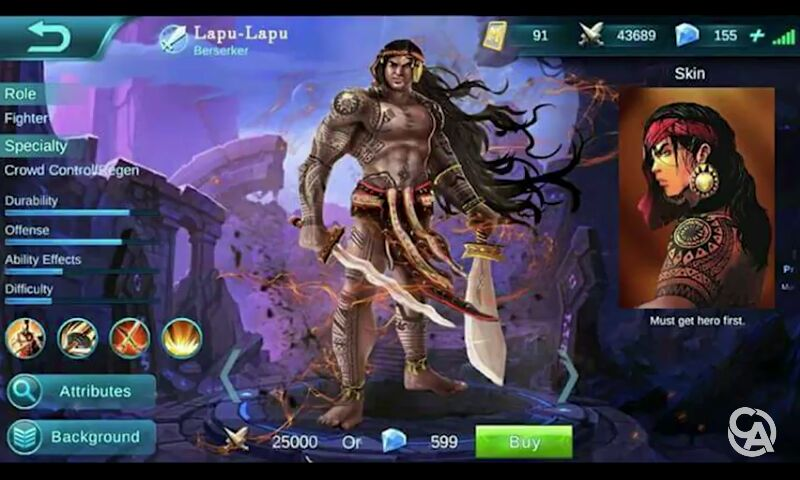 Mobile Legends New Hero Lapu Lapu Seems To Be Leading The Vote Poll
