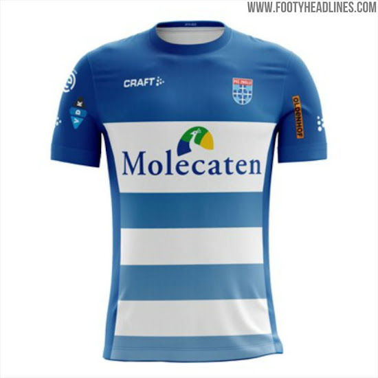 Zwolle 19 20 Home Away Kits Released Footy Headlines