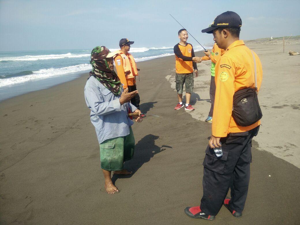 Satu Korban Tenggelam Pantai Setrojenar Ditemukan