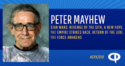 Celebrate the Release of Solo A Star Wars Story in Theaters by Meeting Chewbacca, Peter Mayhew, at Houston's Comicpalooza X