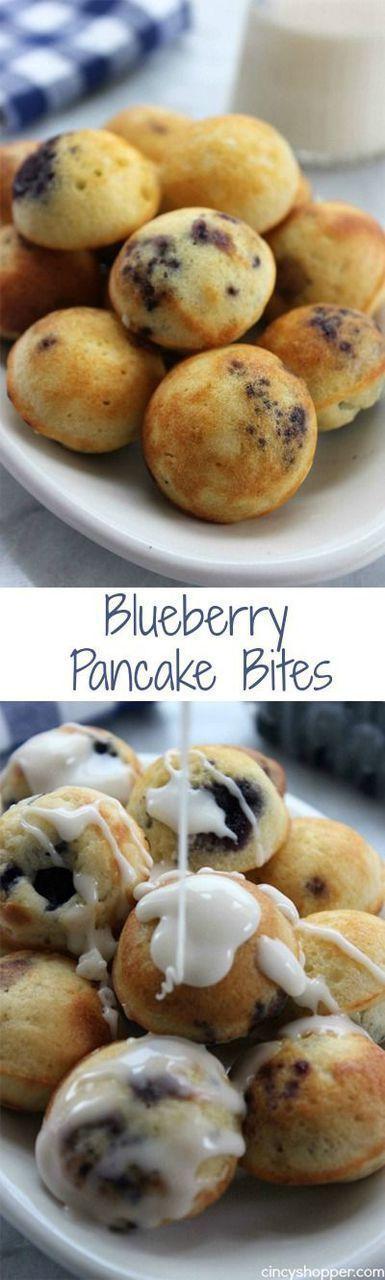 Blueberry Pancake Bites Recipe