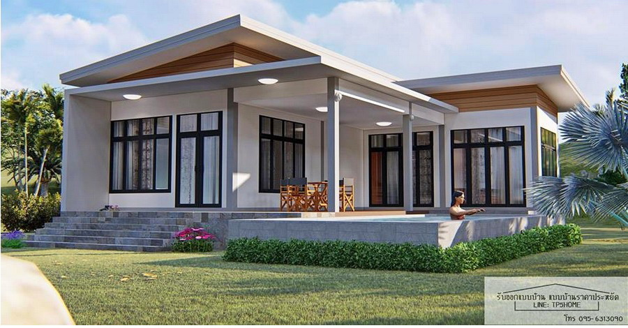 1 - 35+ Small Modern 3 Bedroom House Plans PNG