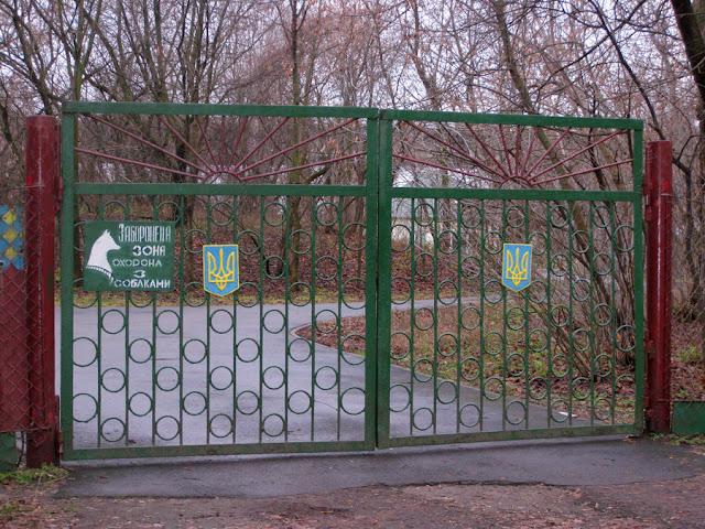 забор, ворота