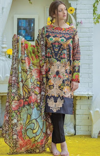 Warda Presents Ali Xeeshan Lawn Summer Collection 2016-2017