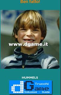 Soluzioni Guess the child footballer livello 36