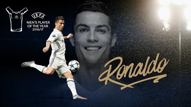 Ronaldo named 2016/17 Men's Player of the Year