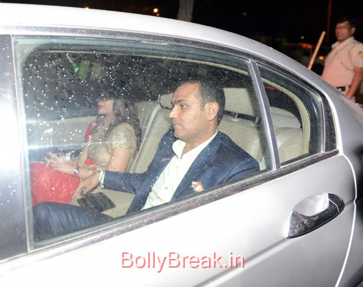 Virender Sehwag, Bollywood Celebrities, Cricketers Attend Suresh Raina's Wedding