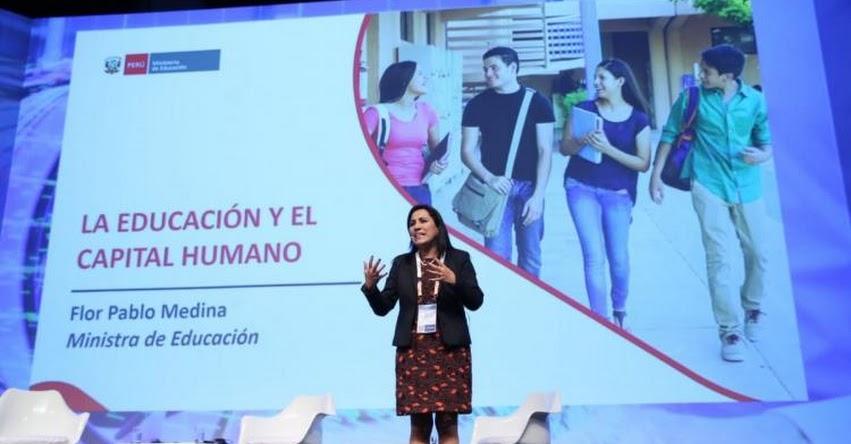 Ministerio de Educación impulsará secundaria técnica para insertar a jóvenes en el mundo laboral
