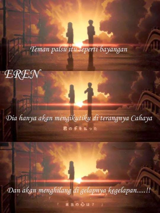 Kata Kata Bijak Anime Yang Keren Abis  Lujak