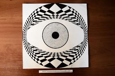 Geometric Eye Art
