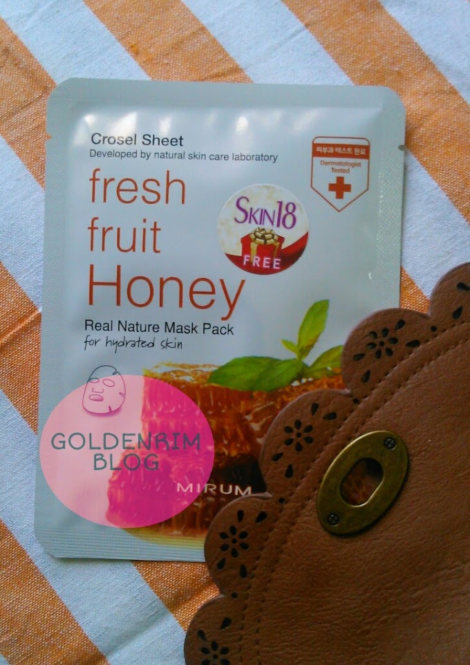 Mirum Fresh Fruit Honey Real Natural Mask Pack Review, Price