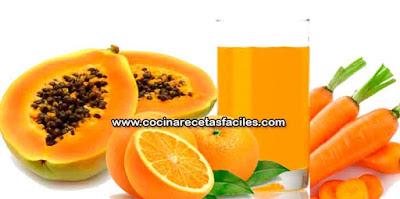 Papaya, naranja y zanahoria para perder peso, un buen régimen para la pérdida de peso suele combinar ejercicio y dieta, y nada mejor que incluir en tu dieta algún jugo que te ayude a perder peso…. ¡y aquí tienes una receta fácil y efectiva!