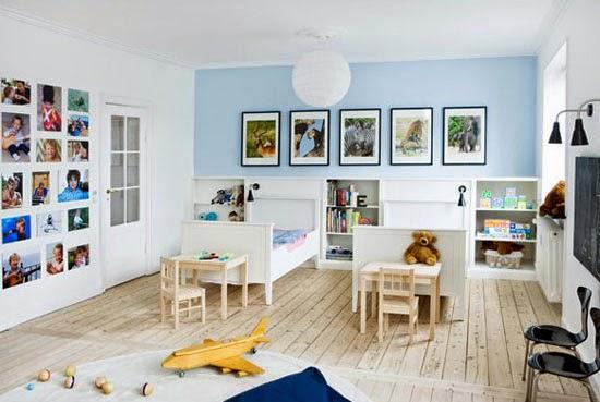 Kinderzimmer Piratwandgestaltung