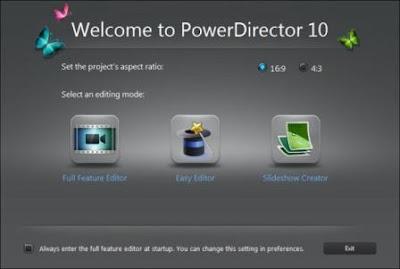 cyberlink powerdirector 10 download crack