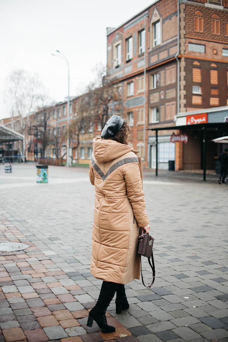 где купить пальто пуховик