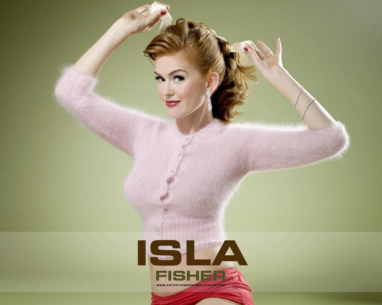 Girls Breast Wallpaper Isla Fisher Isla Fisher Photoshoot