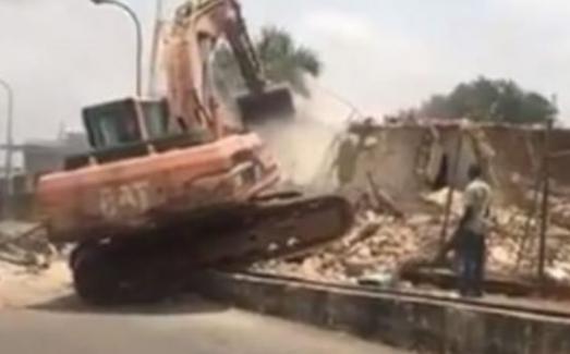 Dokpesi's Buildings At DAAR Communications Demolished By Abuja Authorities