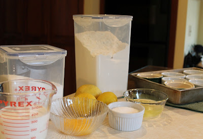 Lemon Pudding Cake Ingredients