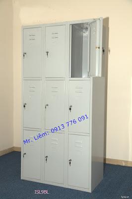 Tủ Locker 9 Ngăn Godrej