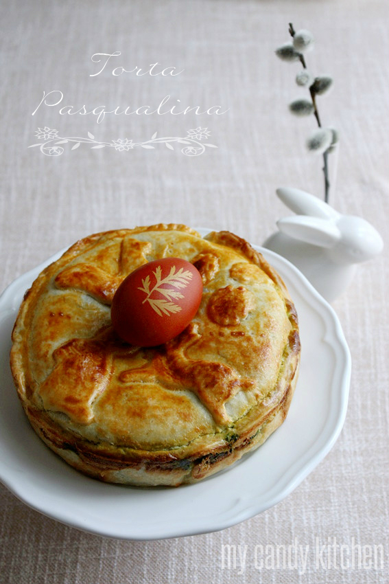 Италиански Великденски пай / Италианска спаначена торта / Torta pasqualina